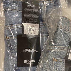 Hudson Jeans Barbara High Rise Super Skinny Ankle
